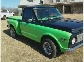 CLASSIC 1971 Chevy C10 Stepside WTT for 4x4