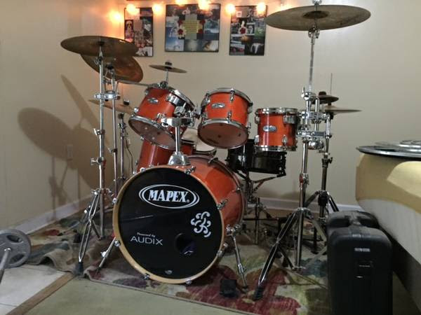Mapex Mbirch complete set